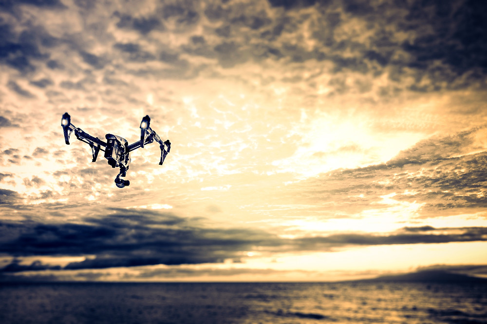 Helicopter Drone Aerial Filming