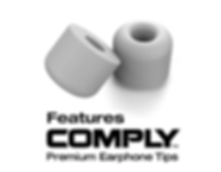 Comply Memory Foam Tips in Grey