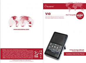 V10 Personal Communicator User Manual