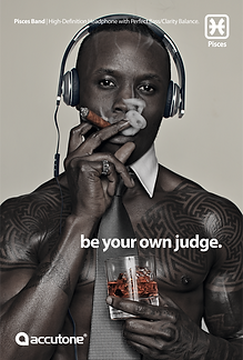 Pisces Ad: Be Your Own Judge Version 1