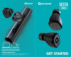 Accutone Vesta TWS User Manual