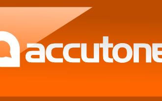 Evolution of the Accutone Logo