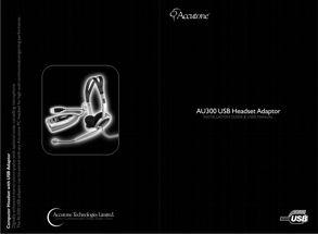 AU300 User Manual