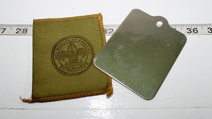 Boy Scouts Pocket Mirror