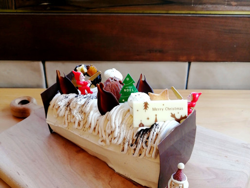クリスマスケーキのお知らせ。