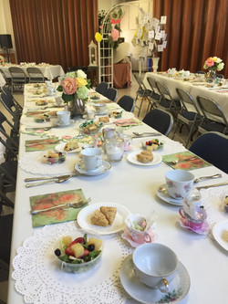 Tea Party table 2016