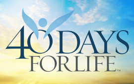 40 Days for Life Kickoff Rally Sept 25th