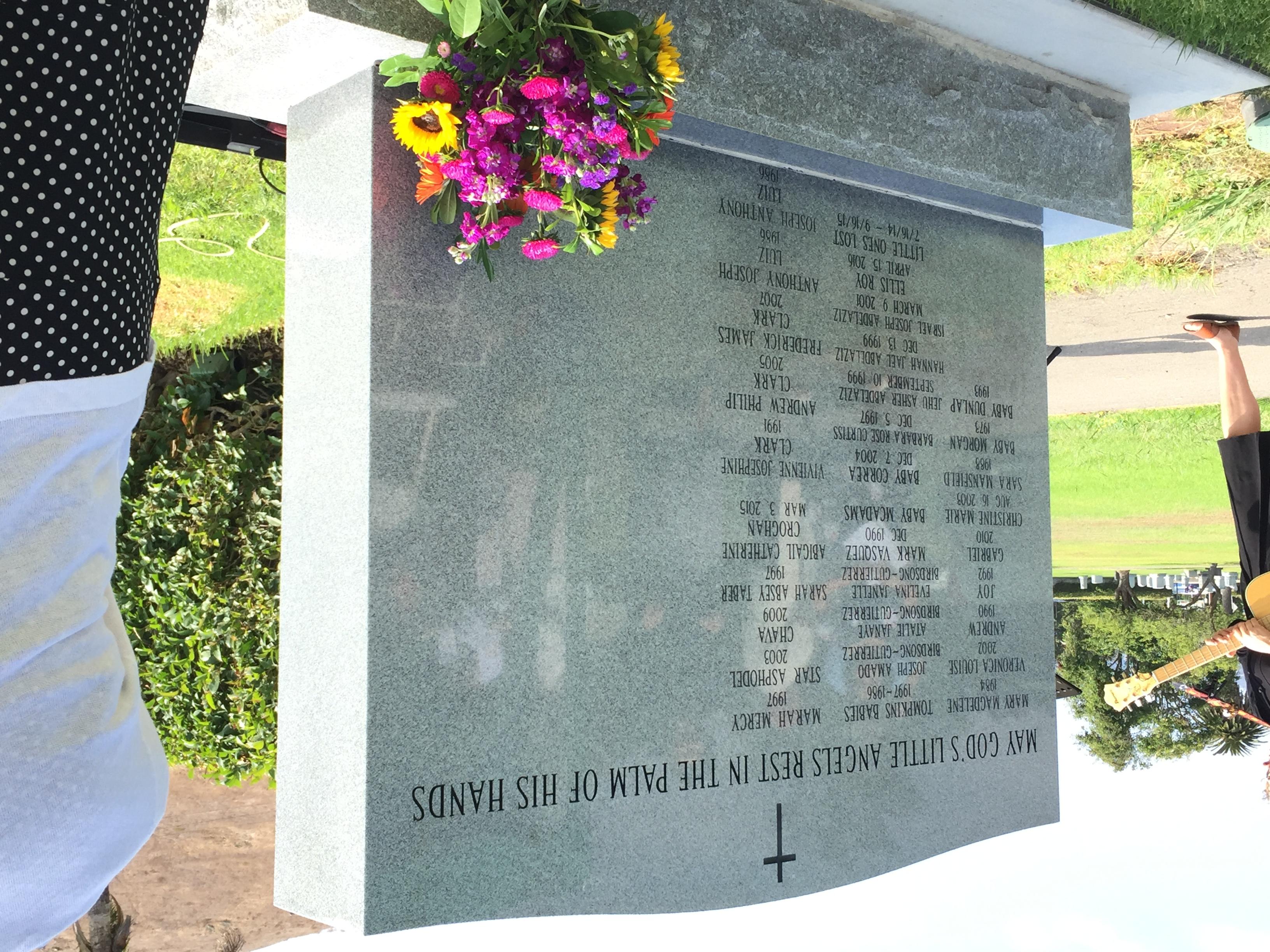 Memorial for Unborn Babies