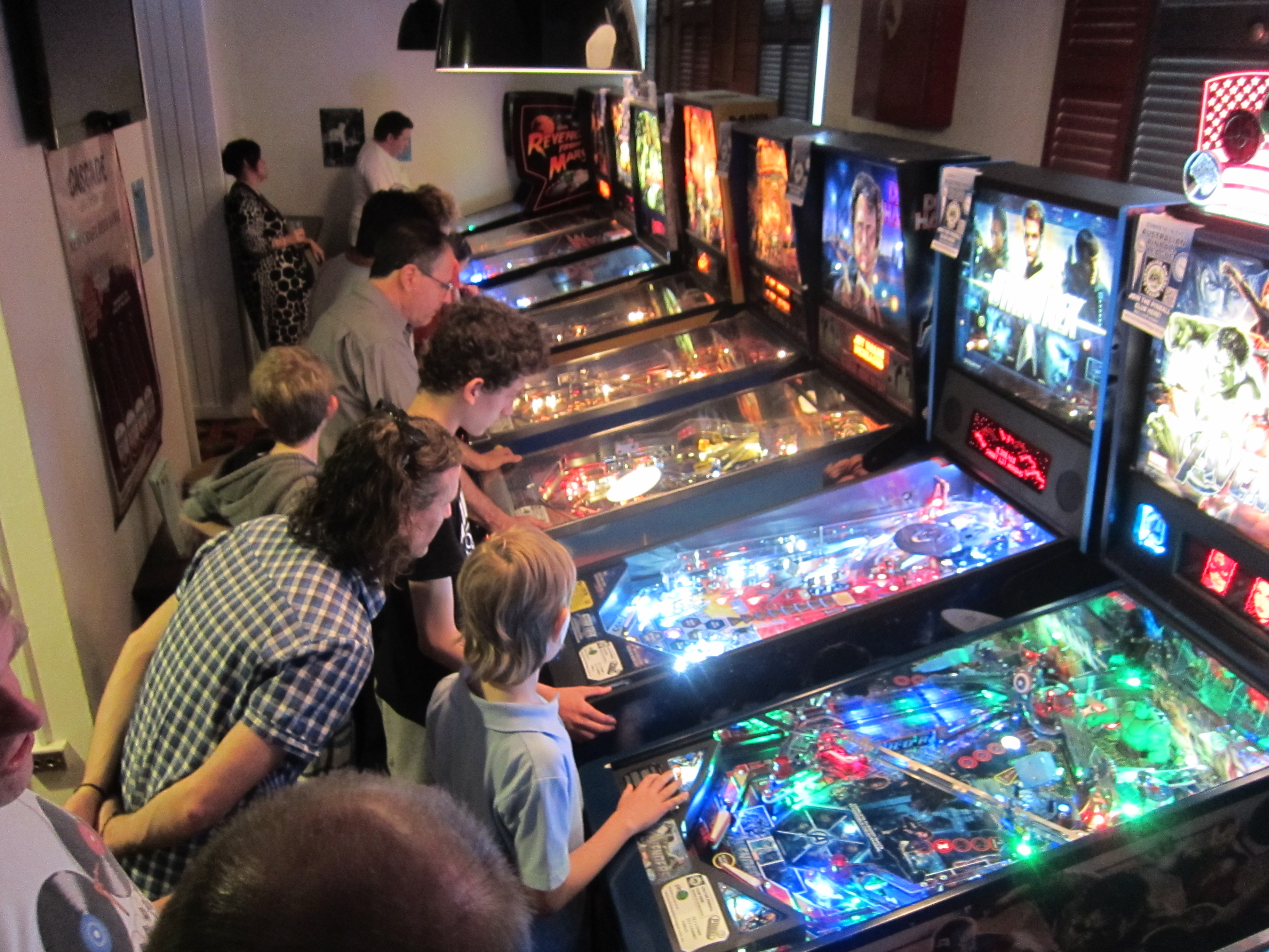 Pinball HQ Opening Night