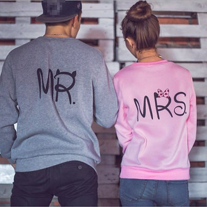 Парные свитшоты MR и MRS