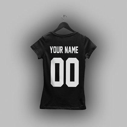 Именная женская футболка
