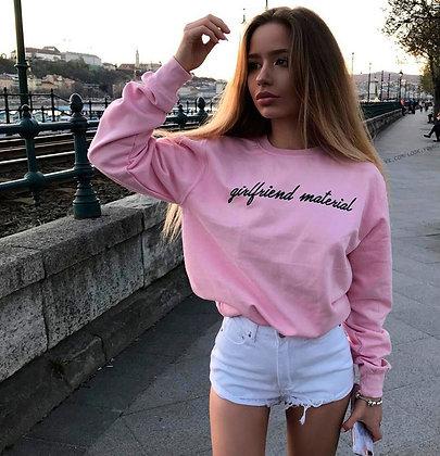 Свитшот Girlfriend material