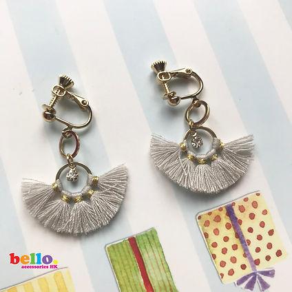 bello 【耳夾款式】螺旋夾耳夾