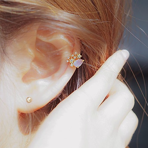 [玫瑰金][耳骨夾] RQ005 -- [香港耳骨夾] [韓國耳骨夾][首飾網店]