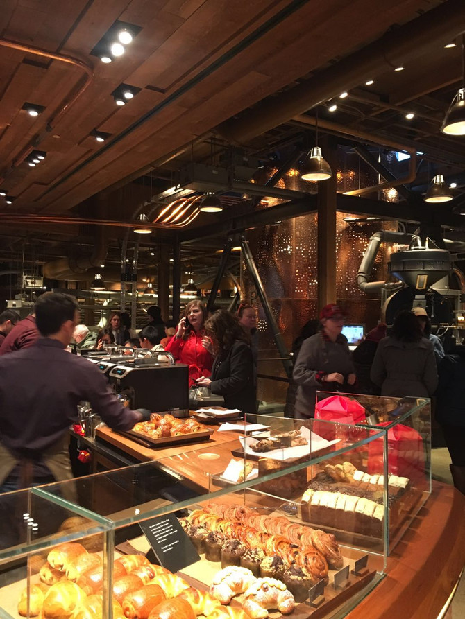 Ultimate Coffee Experience at the Starbucks Reserve Roastery & Tasting Room!