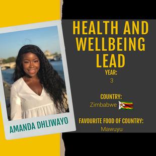 Health & Wellbeing Lead - Amanda