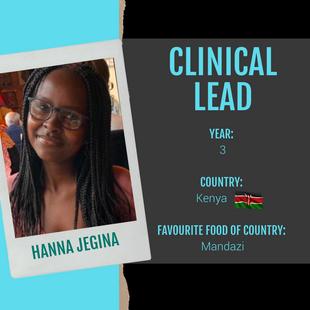 Clinical Lead - Hanna