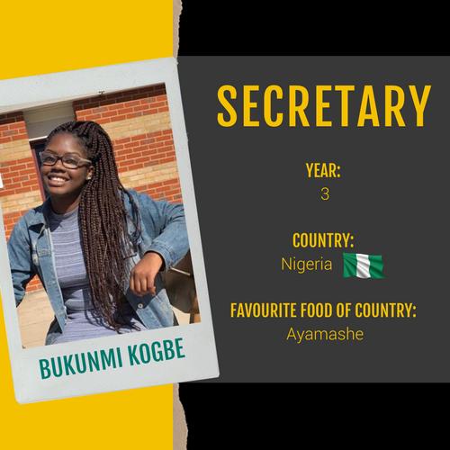 Secretary - Bukunmi