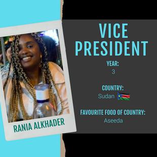 Vice President - Rania