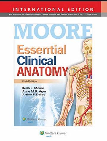 Moore's Anatomy Textbook
