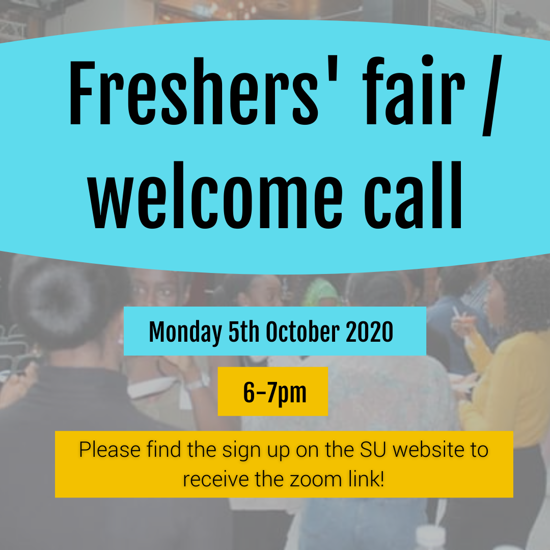 Fresher's welcome
