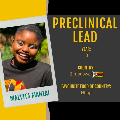 Preclinical Lead - Mazvita