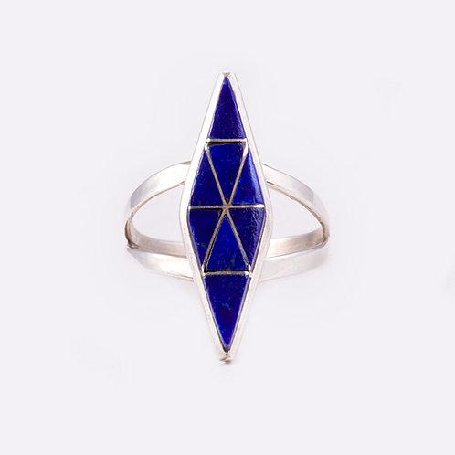 Sterling Zuni Ring RG-0282