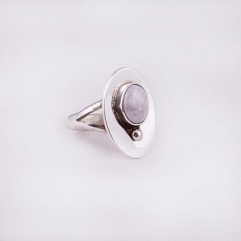 Sterling Carlos Diaz Magnetite Ring RG-0148