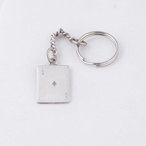 Sterling Silver Carlos Diaz Key Chain MI-0014