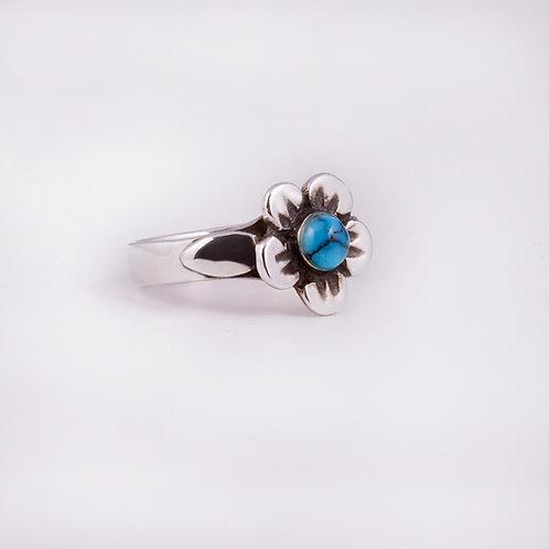 Sterling Carlos Diaz Flower Ring RG-0149
