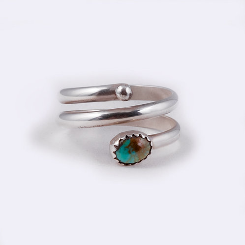 Sterling Silver Navajo Ring RG-0298