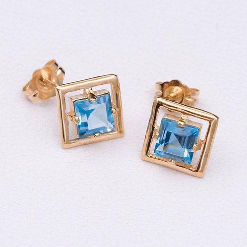 14KT Yellow Gold Earrings GD-0246