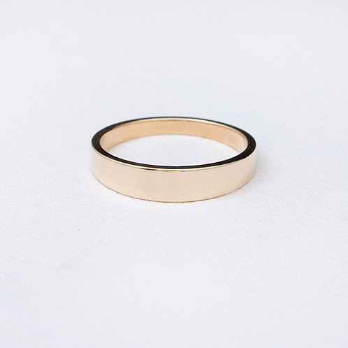 14KT Yellow gold Band GD-0383