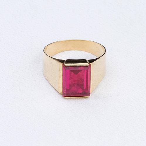 18KT Signet Ring GD-0373