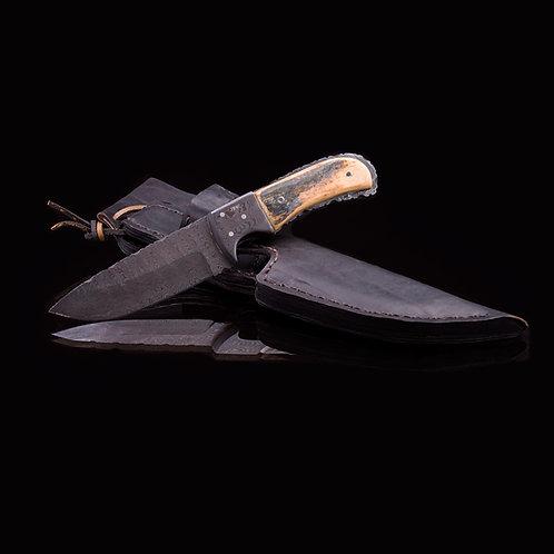Custom Damascus Knife JWK-0014
