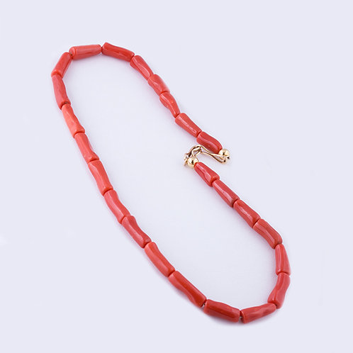 14k Coral Necklace NK-0014