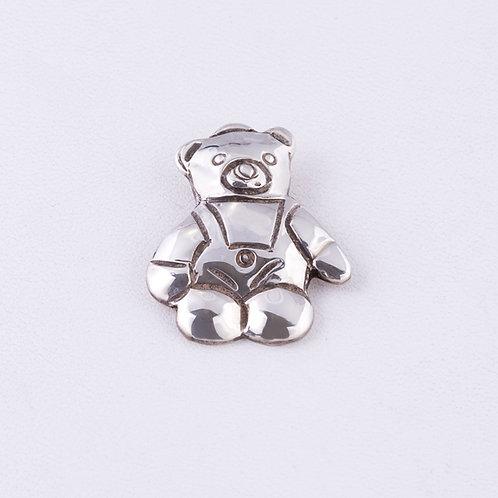 Sterling Silver Carlos Diaz Teddy Bear Pendant