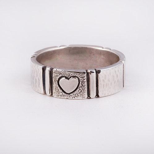 SS CD Stamped ring RG-0405