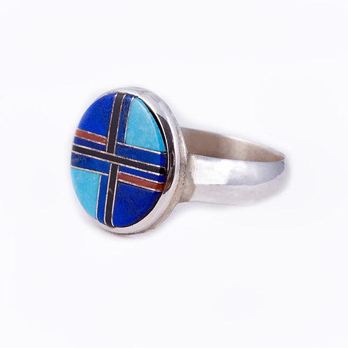 Sterling Zuni Ring RG-0371