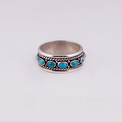 Sterling Silver Carlos Diaz  Ring RG-0151