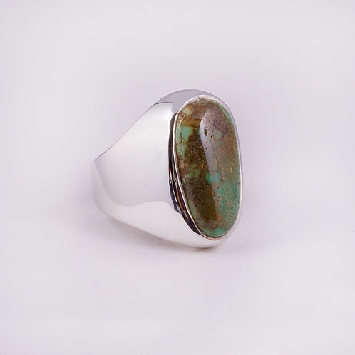 Sterling CD Turquoise Ring RG-0126