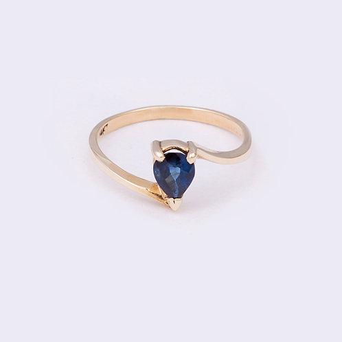 14k Sapphire Ring GD-0123