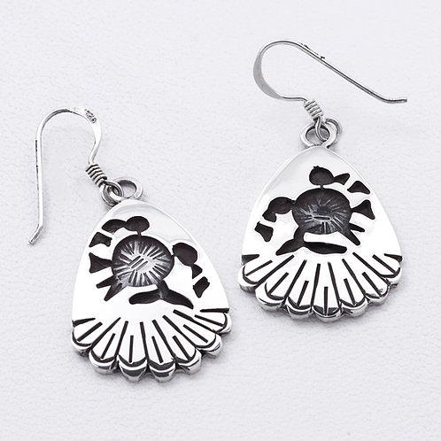 Sterling Hopi Earrings ER-0361