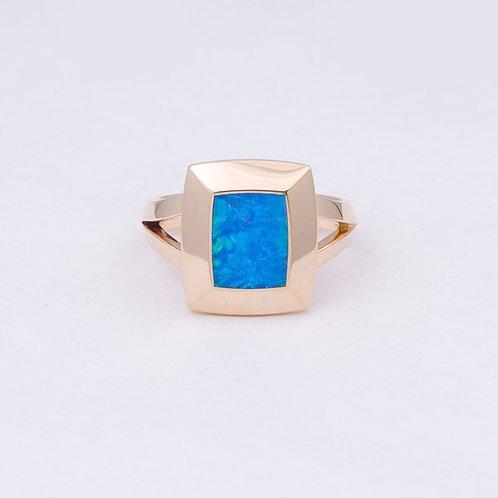 14k Gene Alu Opal Ring GD-0091