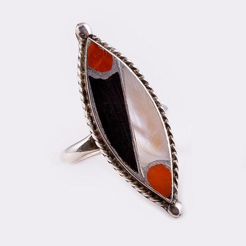 Sterling Zuni Ring RG-0276