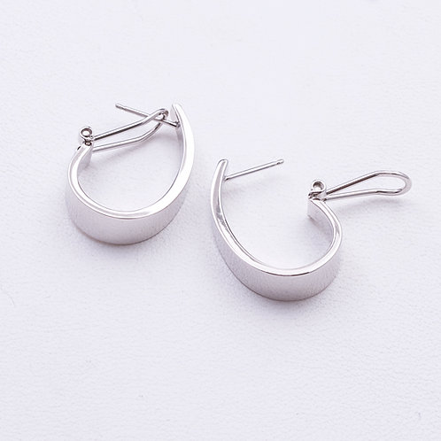 14KT White Gold EarringsGD-0263