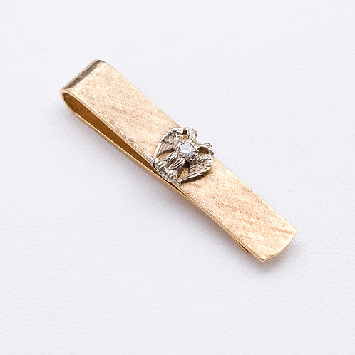 14KT Yellow Gold Tie barGD-0439