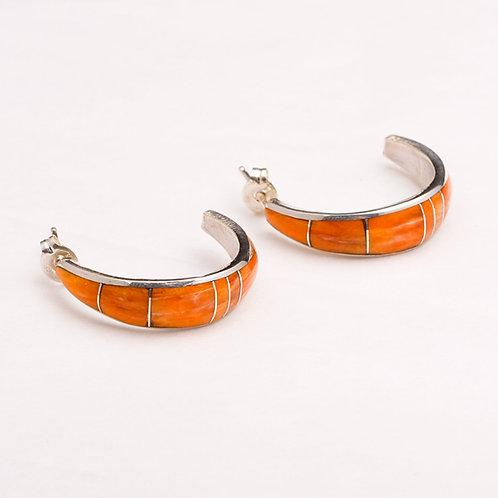 Sterling Spiny Oyster Earrings ER-0323