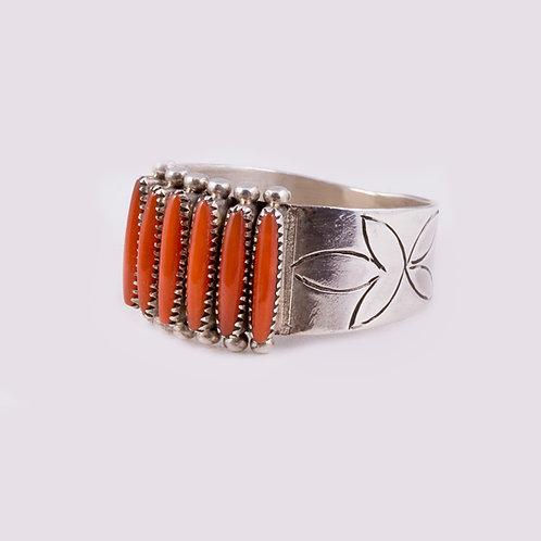Sterling Silver Zuni Ring RG-0311