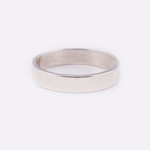 Sterling Flat Ring RG-0338